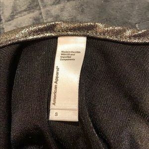 American Apparel Other - NWOT Metallic Bodysuit Never Worn